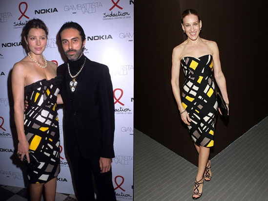 Who Wore It Better? Giambattista Valli Yellow, Black and White Fab Frock