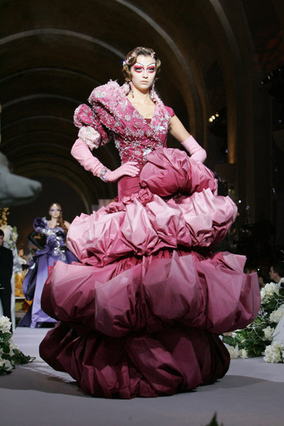 Fall 2007 Couture: Christian Dior