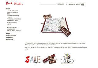 Fab Site: PaulSmith.co.uk