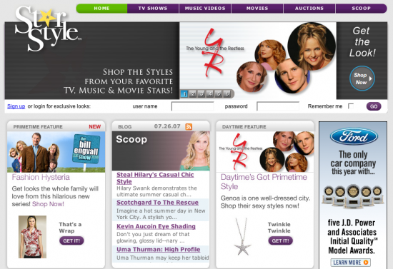 Fab Site: StarStyle.com