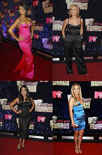 MTV Video Music Awards: Sexy in Satin