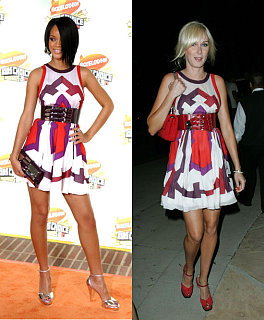 Who Wore It Better? Gucci Graphic Print Dress