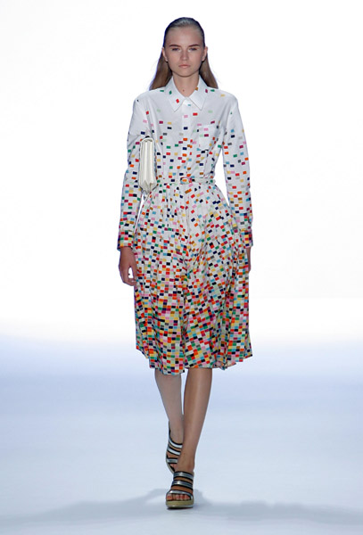 New York Fashion Week Trend Alert: Polka Dots
