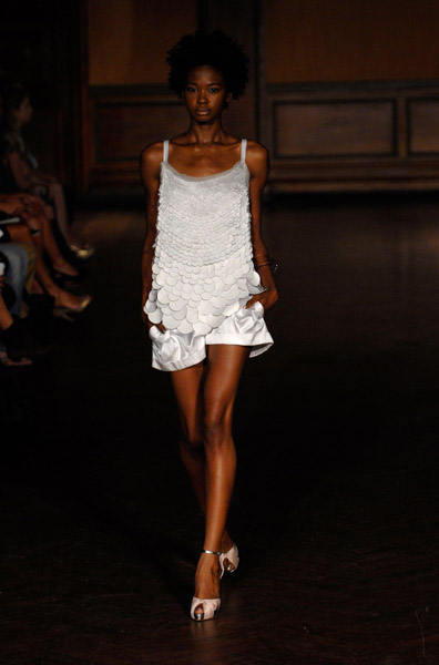New York Fashion Week Key Color: White