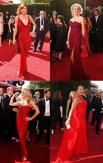 Primetime Emmy Awards: Battle of the Red Dresses
