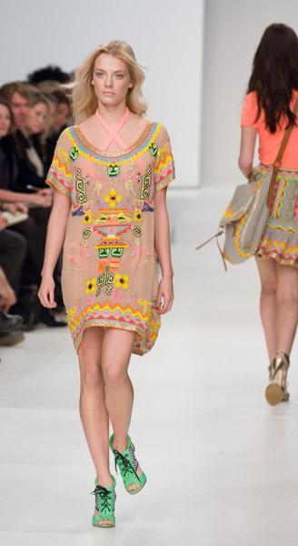 London Fashion Week, Spring 2008: Matthew Williamson
