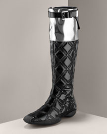 Versace Quilted Sport Boot: Love It or Hate It?