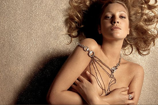 Fab Ad: Drew Barrymore for Gucci Fine Jewelry