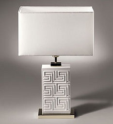 Crave Worthy: Versace Home Greek Key Lamp