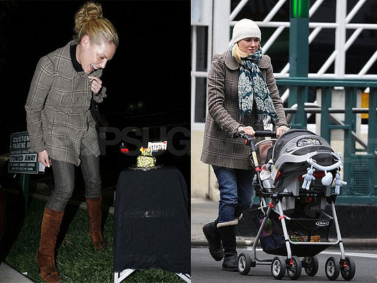 Who Wore It Better? Juicy Couture Plaid Ruffle Coat