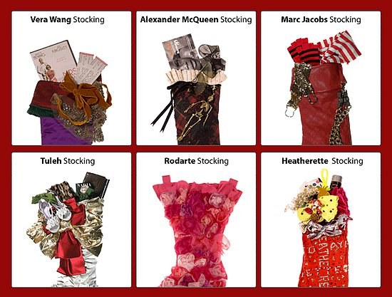On Our Radar: Christmas Stockings by Top Designers