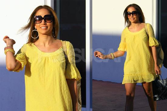 Jennifer Lopez is A Big Bright Shining Sun