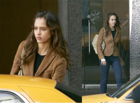 Jessica Alba: Dreary On Set