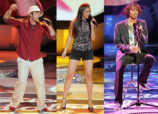 American Idol Season 6 J Lo's Latin Evening