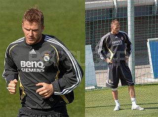 Beckham Is Back Baby!