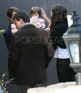 Suri Makes Her Parents Bring Her To Grier's Big Party