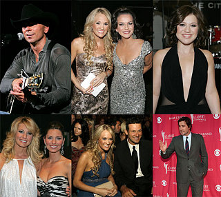 Kenny & Carrie Win Big at the ACM Awards