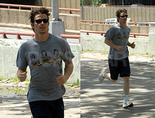 Josh Is Up On The Streets Just Working On His Fitness