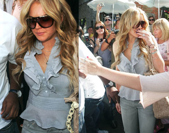 Lindsay Lohan Cited For DUI & Busted For Coke