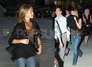 Aniston Catches The Police