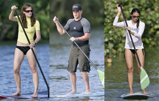 The Damon/Affleck Hawaiian Vacation Floats On