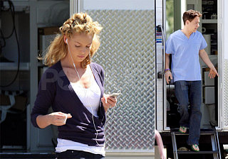 Katherine & TR Getting Back In The Scrubs