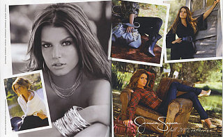 Jessica Simpson Is Her Own Best Model