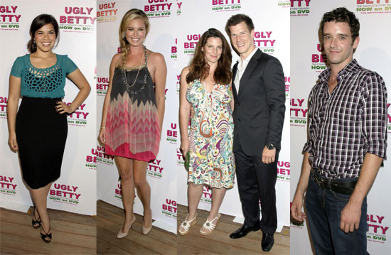 Beautiful Ugly Betty-ers Show Off Their Hot DVD
