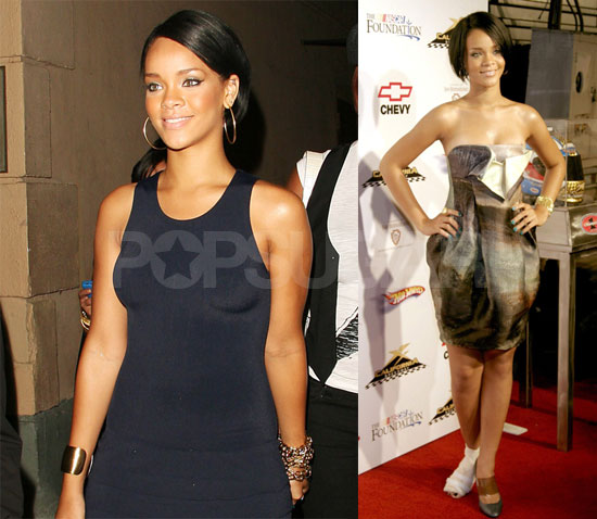 Rihanna Hasn't Let Shia Under Her Umbrella