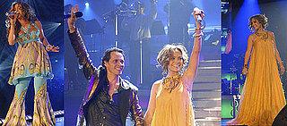 Jennifer Lopez & Marc Anthony Begin Their Family Tour