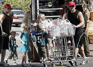 Ryan's Got Himself a Shopping Cart Full of Cute Kids