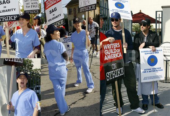 Seattle Grace Joins The Writers' Strike