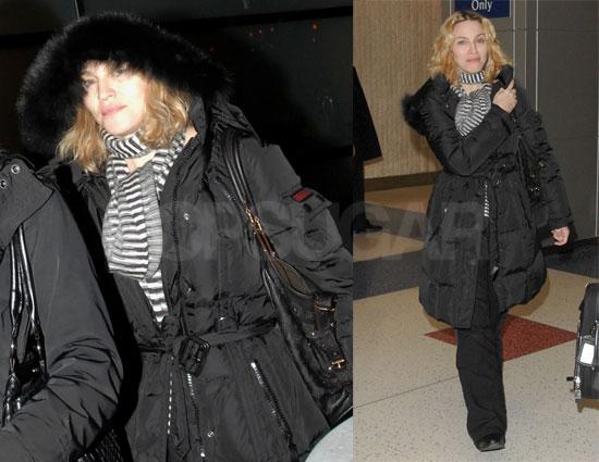 Madonna Keeps Christmas Low Key