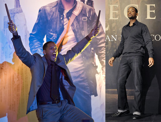Will Smith at the I Am Legend Premiere in Hong Kong