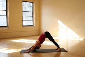 Strike a Yoga Pose:  Warrior 1