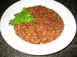 My New Favorite Soup: Lentil Tomato