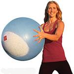 Stay Put Exercise Ball: BOSO Ballast Ball