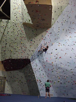 Get Physical: Indoor Rock Climbing