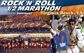 Rock 'n' Run: Rock 'n' Roll Half Marathon Virginia Beach