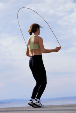Get It Up — Your Heart Rate, That Is: Jumping Rope