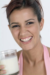 Great Post Workout Replenishment: Skim Milk