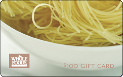 Win $100 Whole Foods Gift Card!