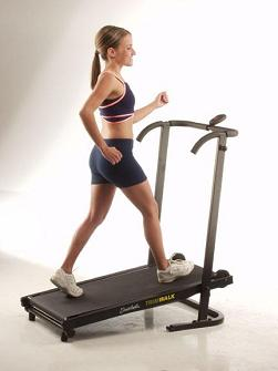 Green Exercise: Manual Treadmill Requires No Electricity