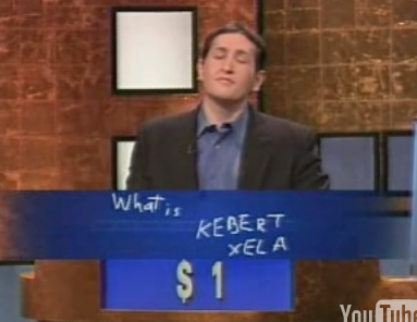 Contestant Disses Alex Trebek