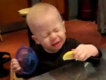 This Baby Can Handle The Sour!