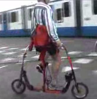 One-Sided Biking