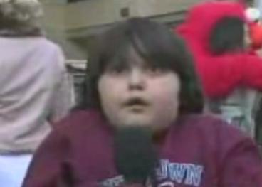 Kid Has Extreme Camera Fright