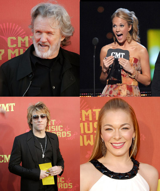 Young Talent and Legends Honored at the CMT Awards