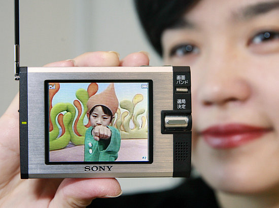 Sony Shows Off Mini Personal TV