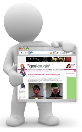Geeksugar Was Nominated for Blogger's Choice Award!!!!